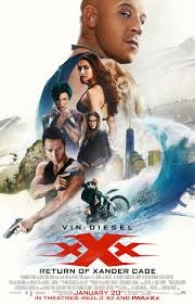 xXx: THE RETURN OF XANDER CAGE now showing at Shelly Centre