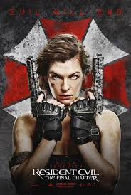 RESIDENT EVIL: THE FINAL CHAPTER now showing at Shelly Centre