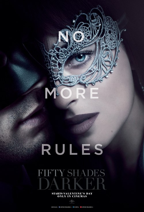 FIFTY SHADES DARKER now showing at Shelly Centre