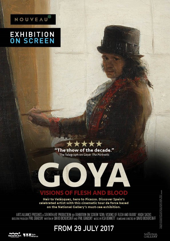 GOYA: VISIONS OF FLEASH AND BLOOD (EOS) Poster
