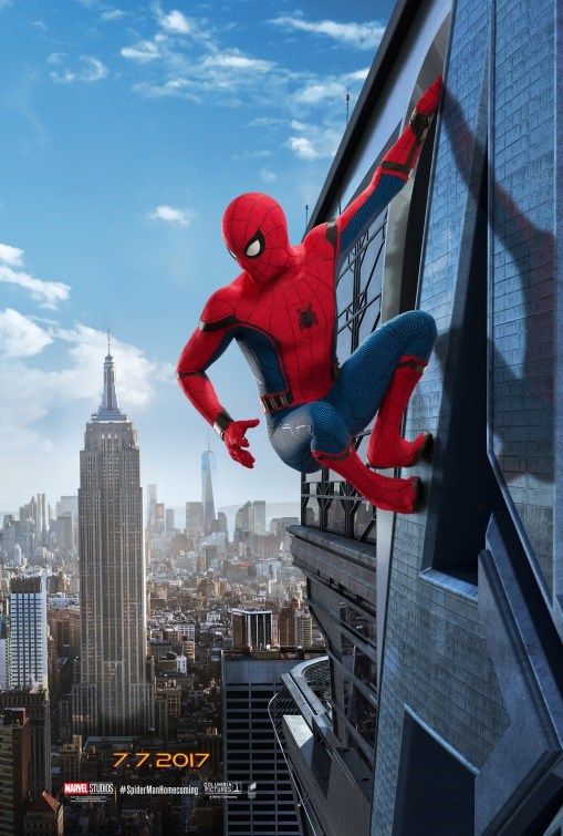SPIDER-MAN: HOMECOMING now showing at Shelly Centre