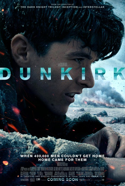 DUNKIRK now showing at Shelly Centre