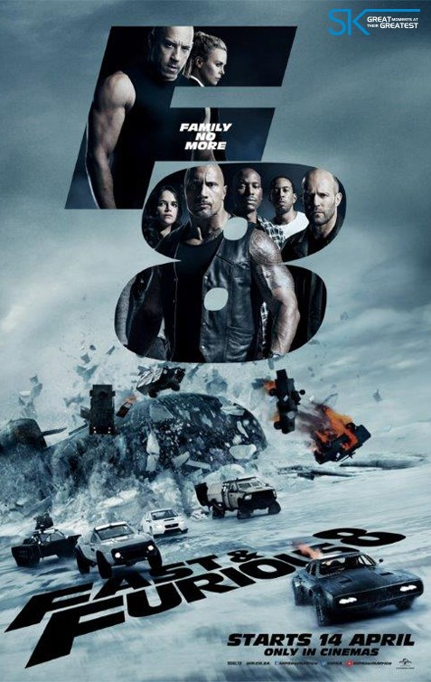 FAST & FURIOUS 8 now showing at Shelly Centre