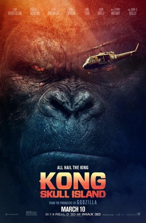 KONG: SKULL ISLAND now showing at Shelly Centre