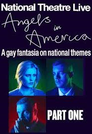 ANGELS IN AMERICA PT 1 (NT LIVE) Poster