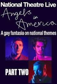 ANGELS IN AMERICA PT 2 (NT LIVE) Poster
