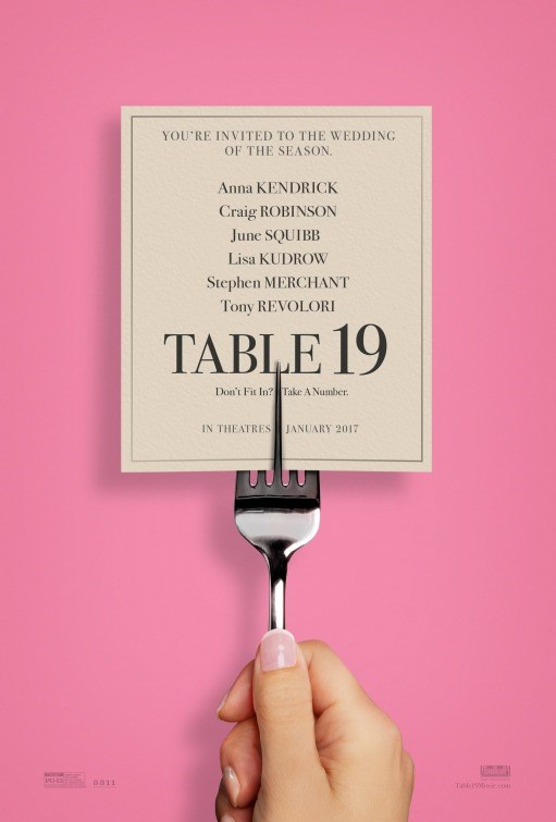 TABLE 19 now showing at Shelly Centre