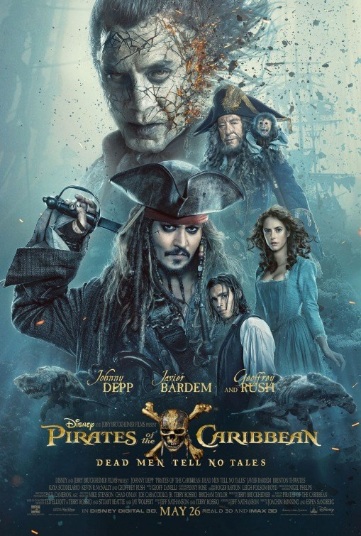 PIRATES OF THE CARIBBEAN: SALAZAR'S REVENGE now showing at Shelly Centre