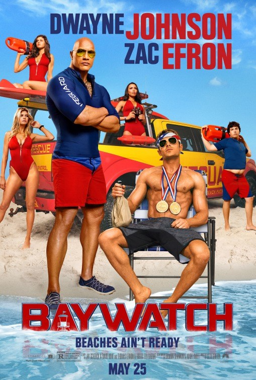 BAYWATCH now showing at Shelly Centre