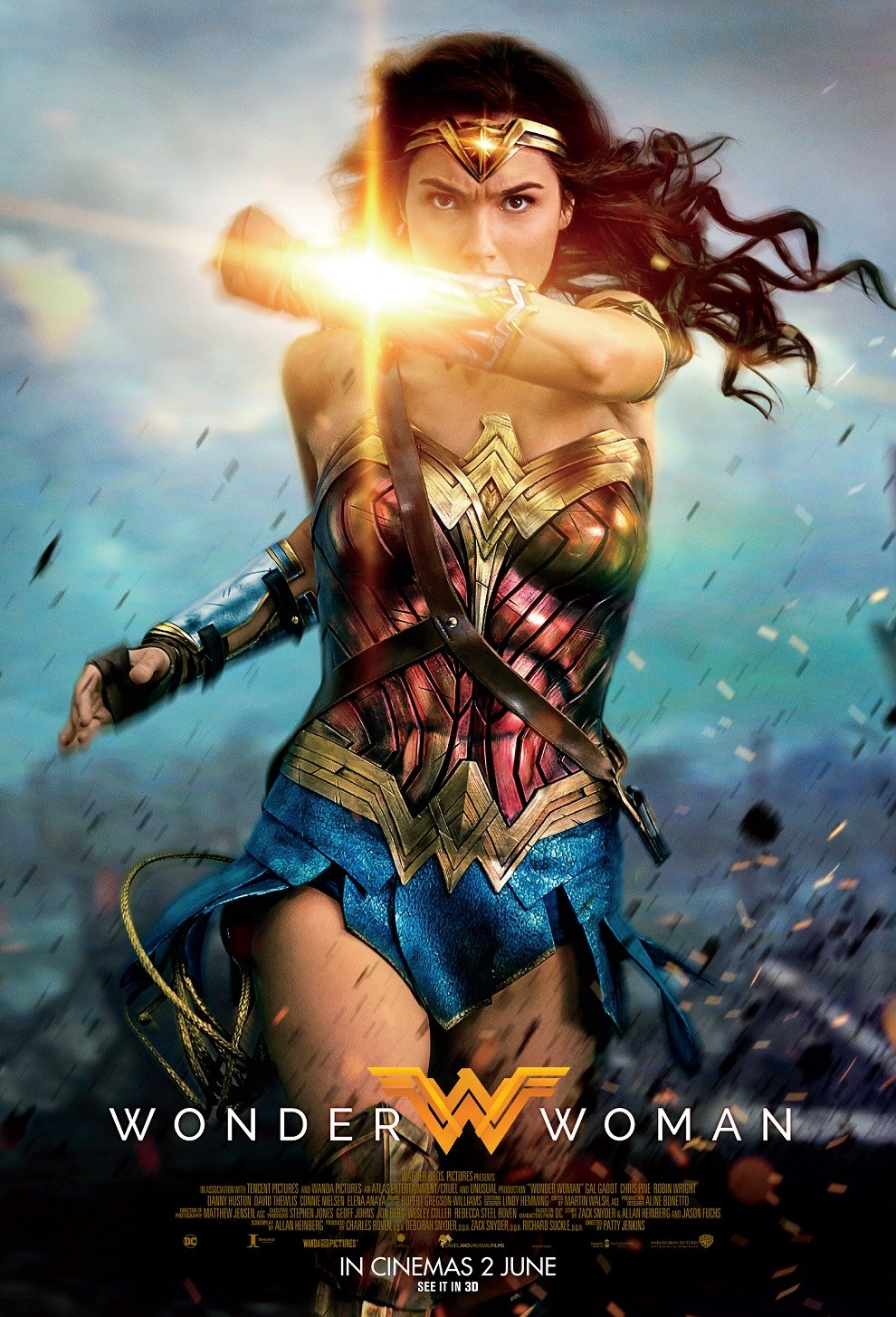 WONDER WOMAN now showing at Shelly Centre