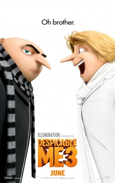 DESPICABLE ME 3 now showing at Shelly Centre
