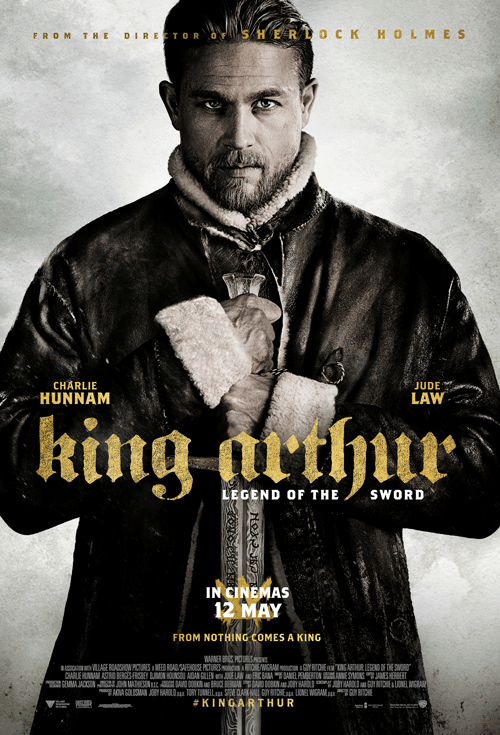 KING ARTHUR: LEGEND OF THE SWORD now showing at Shelly Centre