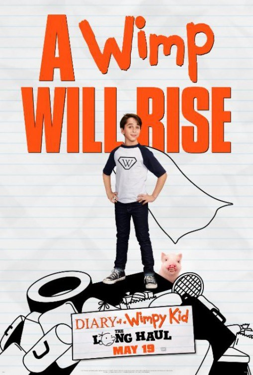 DIARY OF A WIMPY KID: LONG HAUL Poster