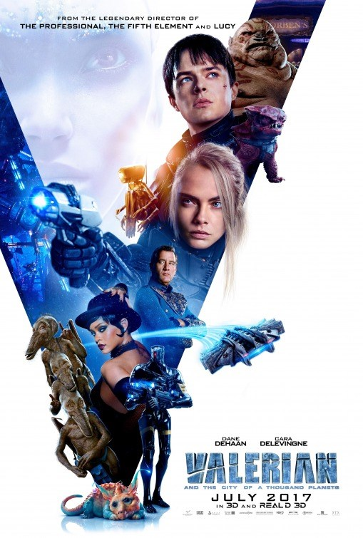 VALERIAN & THE CITY OF A THOUSAND PLANETS now showing at Shelly Centre