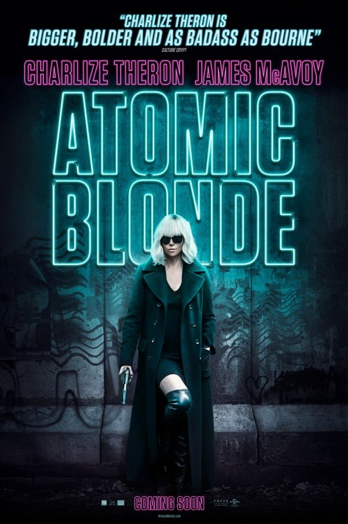ATOMIC BLONDE now showing at Cavendish Square
