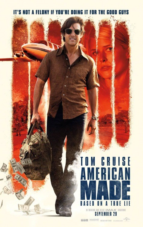 AMERICAN MADE now showing at Shelly Centre