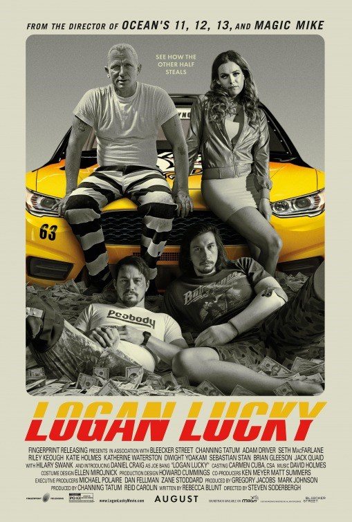 LOGAN LUCKY now showing at Cavendish Square