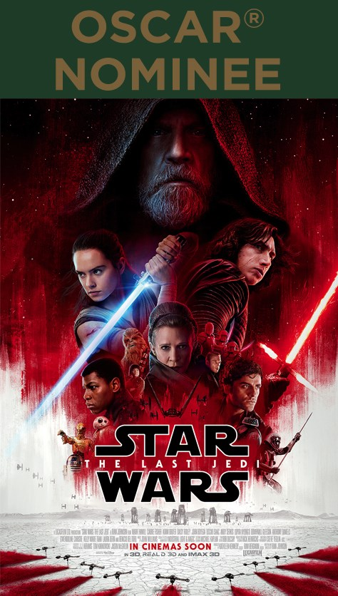 STAR WARS: THE LAST JEDI now showing at Cavendish Square