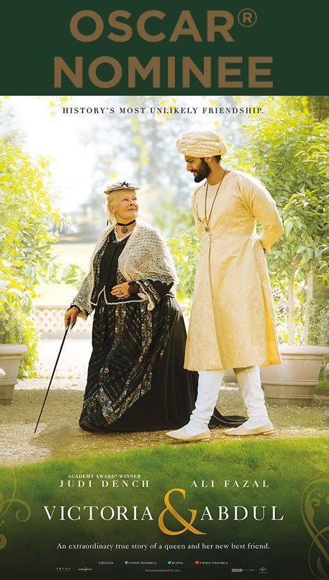 VICTORIA AND ABDUL now showing at Cavendish Square
