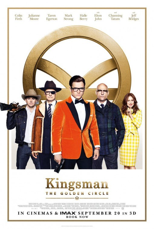KINGSMEN: GOLDEN CIRCLE now showing at Shelly Centre