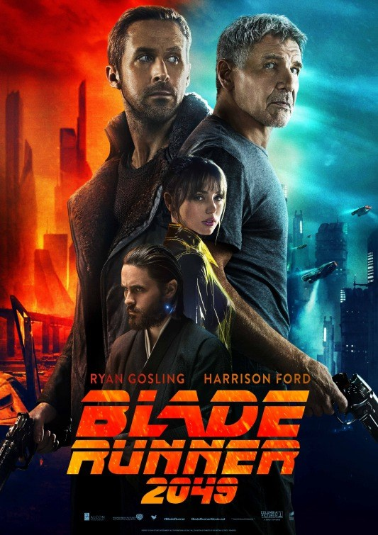 BLADE RUNNER 2049 now showing at Cavendish Square