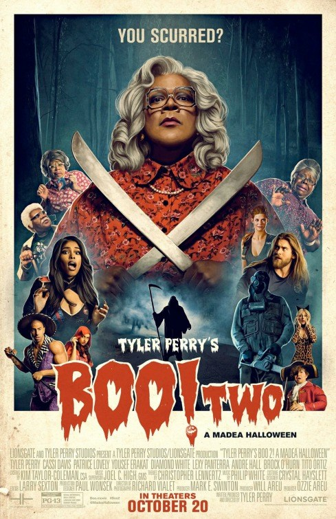 TYLER PERRY'S BOO 2! A MADEA HALLOWEEN now showing at Shelly Centre