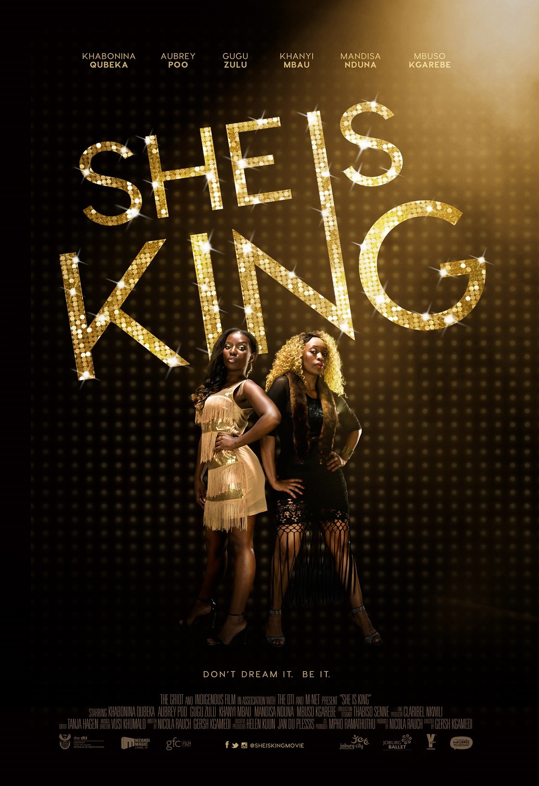 SHE IS KING Poster