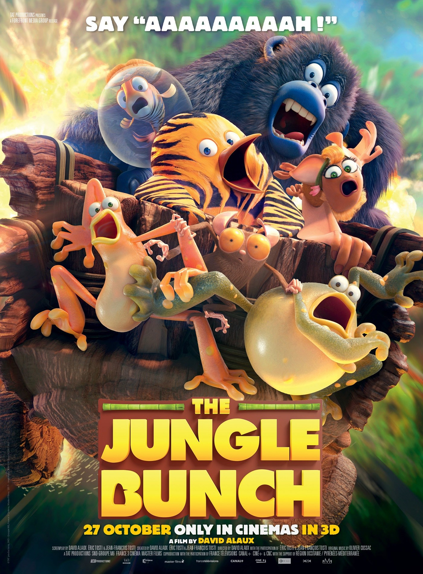 JUNGLE BUNCH now showing at Shelly Centre