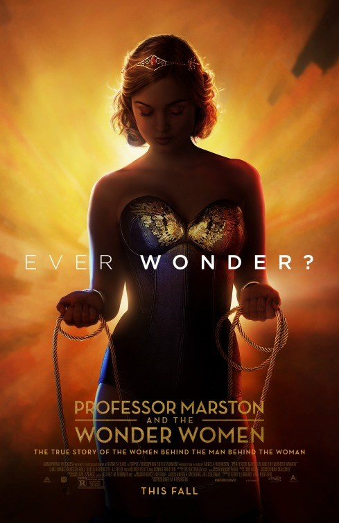 PROFESSOR MARSTON AND THE WONDER WOMAN Poster