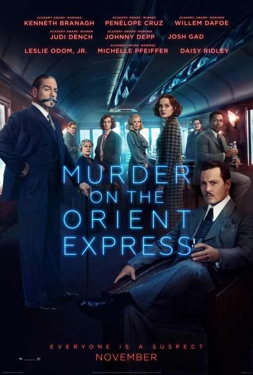 MURDER ON THE ORIENT EXPRESS now showing at Cavendish Square