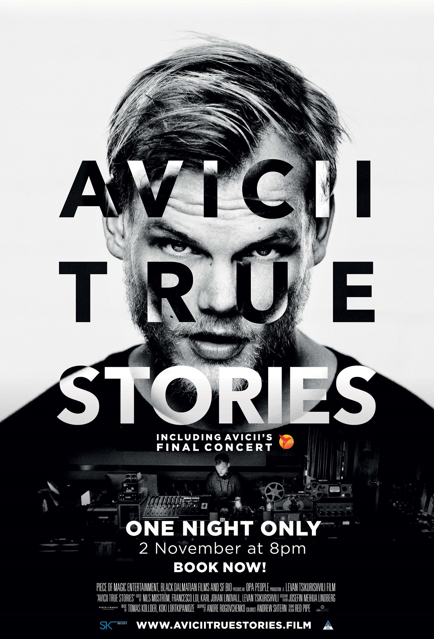 AVICII TRUE STORIES now showing at Cavendish Square