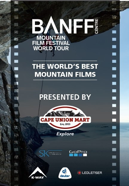 BANFF - MOUNTAIN FILM FESTIVAL 2017 now showing at Cavendish Square