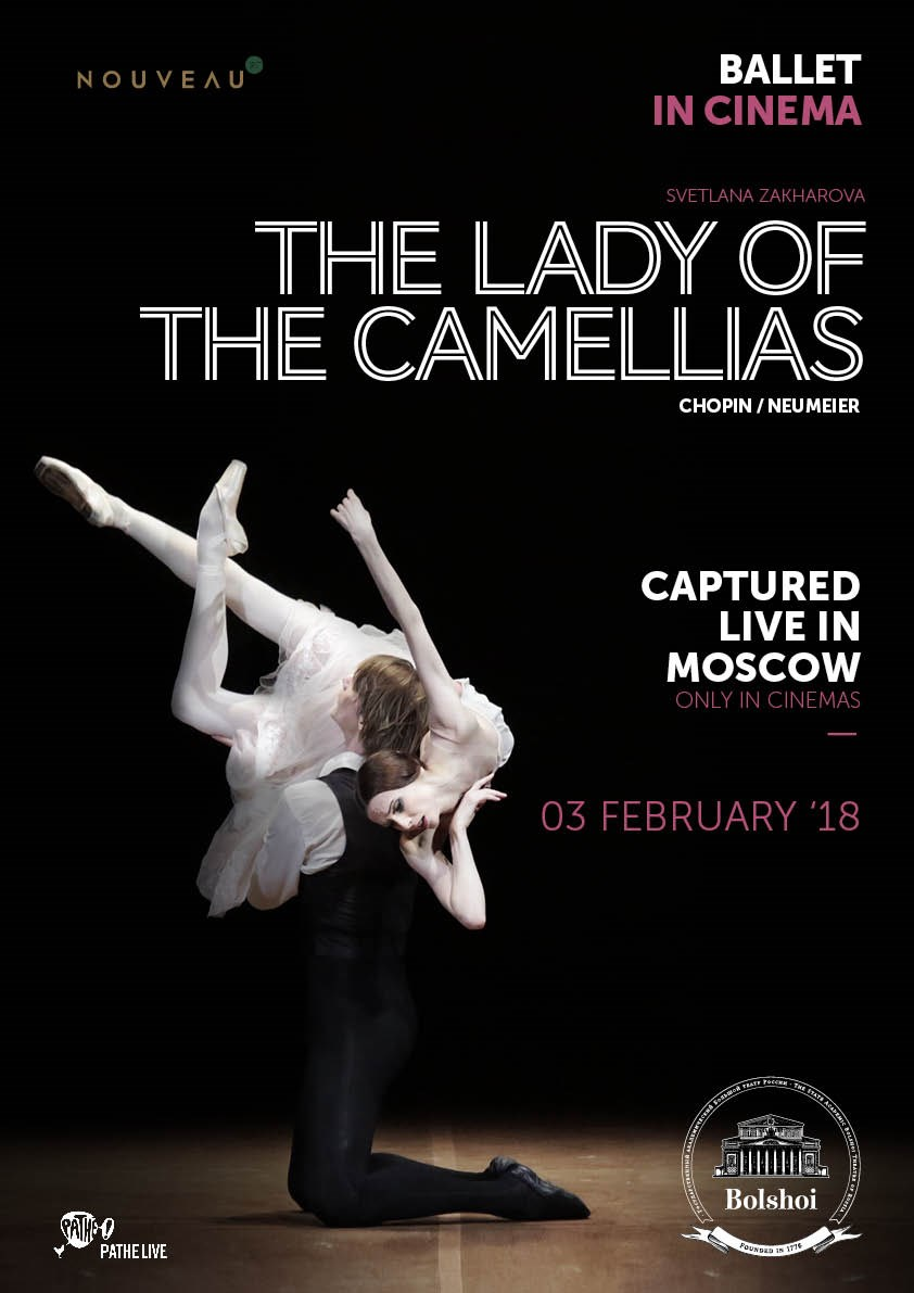 LADY OF THE CAMELLIAS, THE (BOLSHOI) Poster
