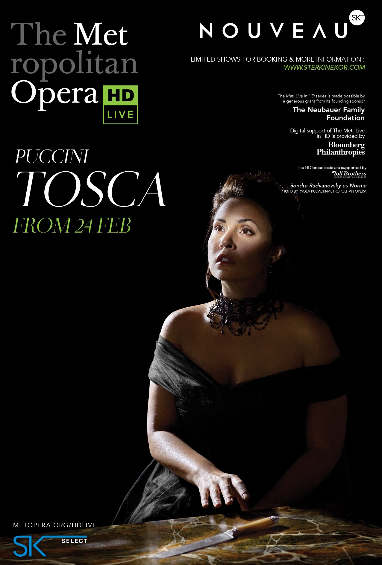 TOSCA (PUCCINI) Poster