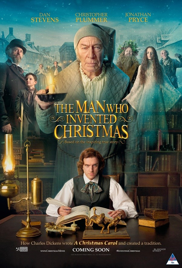 MAN WHO INVENTED CHRISTMAS, THE Poster