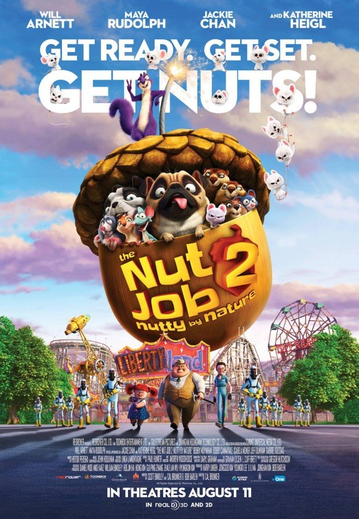 NUT JOB 2: NUTTY BY NATURE Poster