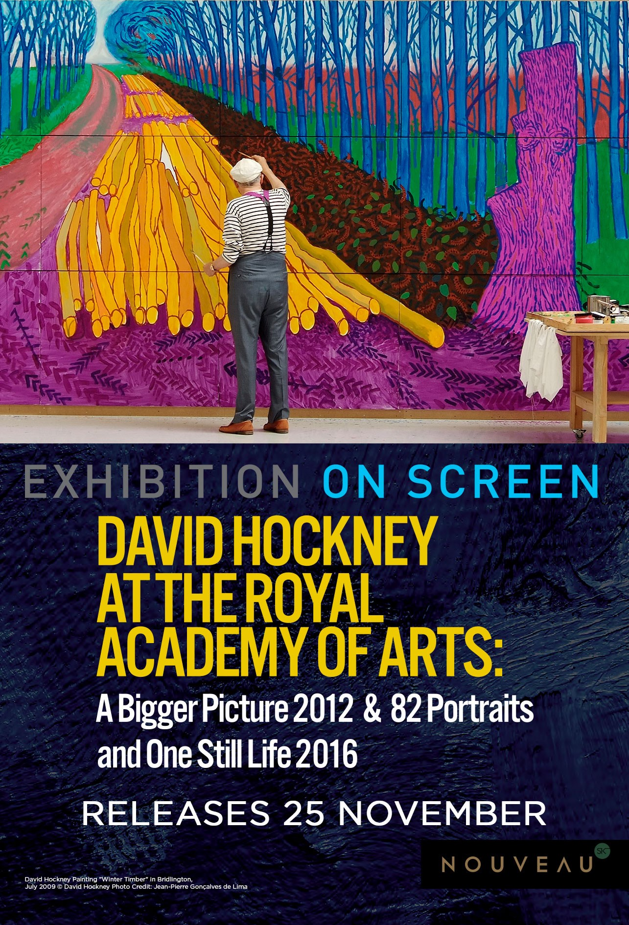 DAVID HOCKNEY: ROYAL ACADEMY OF ART (EOS) Poster