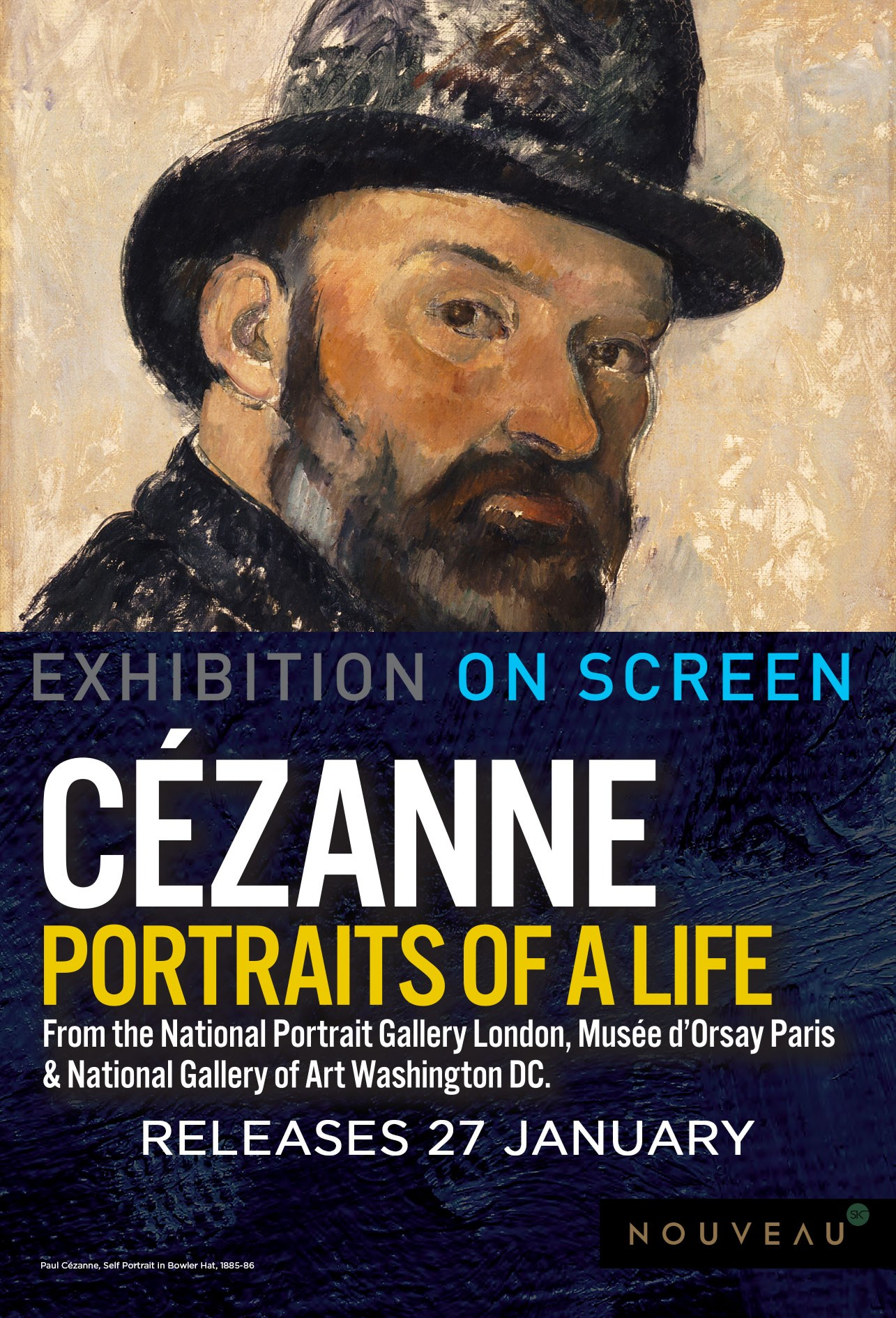 CEZANNE: PORTRAITS OF LIFE Poster