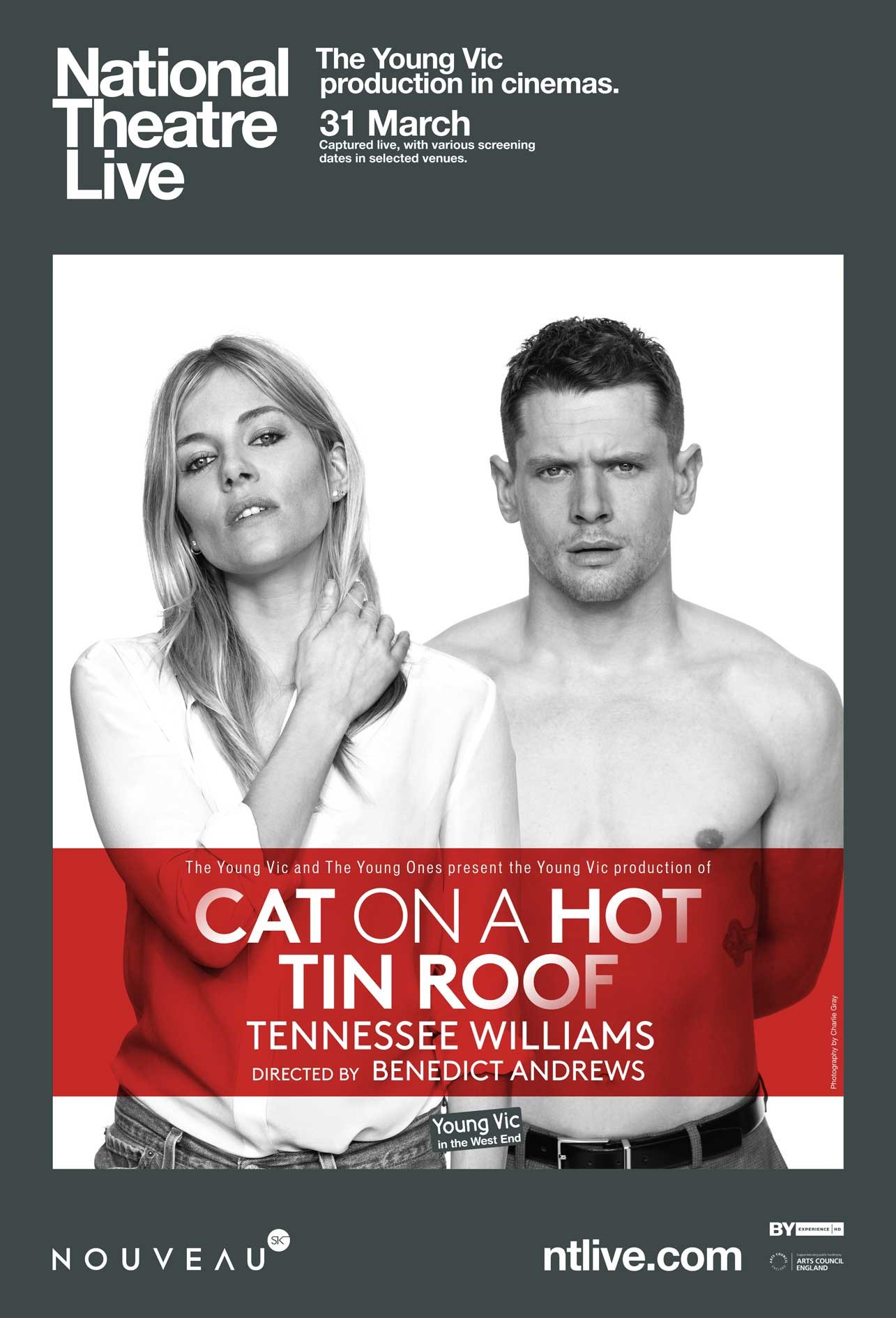 CAT ON A HOT TIN ROOF (NT LIVE) Poster