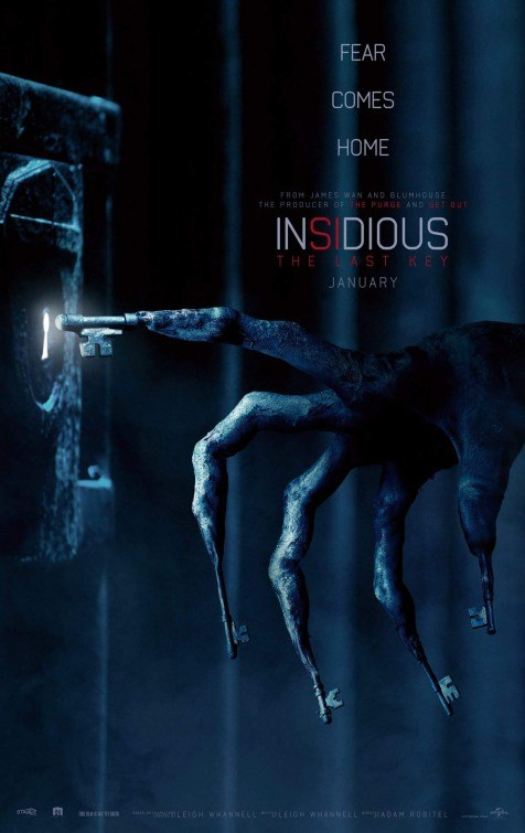 INSIDIOUS: THE LAST KEY now showing at Cavendish Square