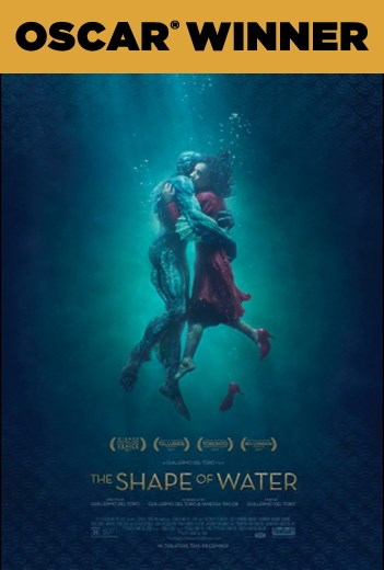 SHAPE OF WATER, THE now showing at Shelly Centre