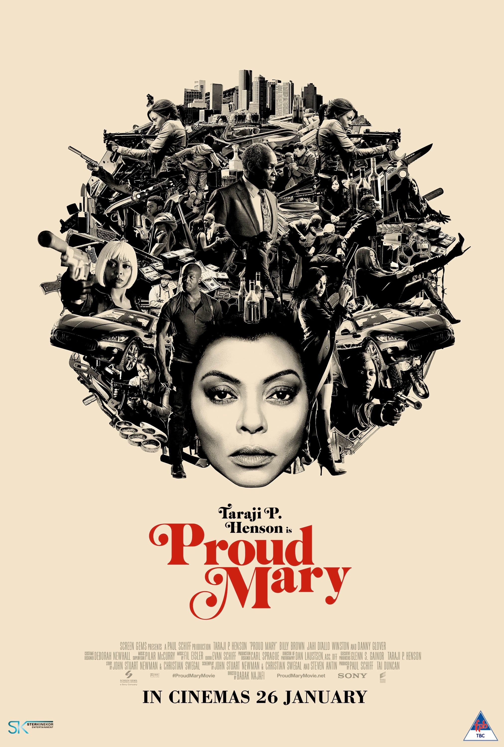 PROUD MARY now showing at Cavendish Square