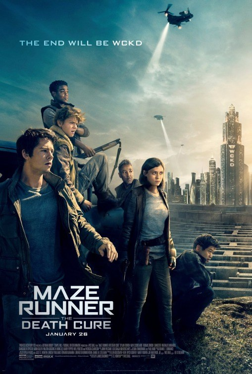 MAZE RUNNER: DEATH CURE now showing at Cavendish Square