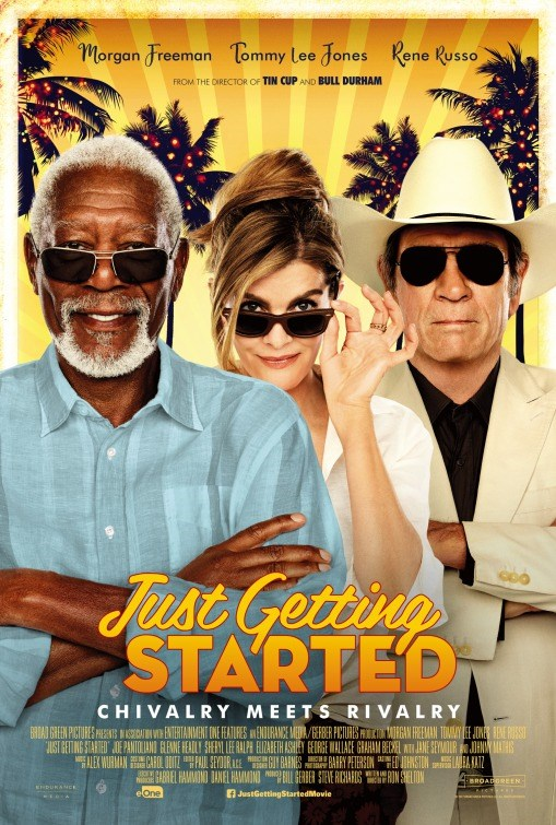 JUST GETTING STARTED now showing at Shelly Centre