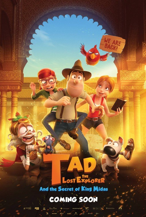 TAD THE LAST EXPLORER: SECRET OF KING MIDAS now showing at Shelly Centre