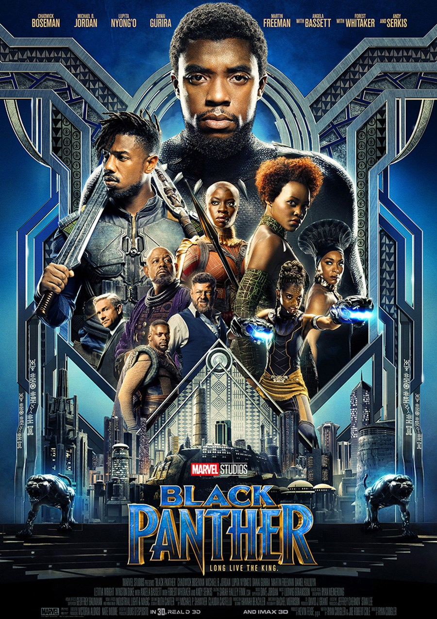 BLACK PANTHER now showing at Shelly Centre
