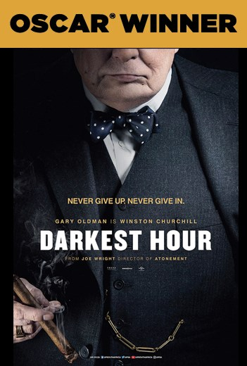 DARKEST HOUR now showing at Shelly Centre