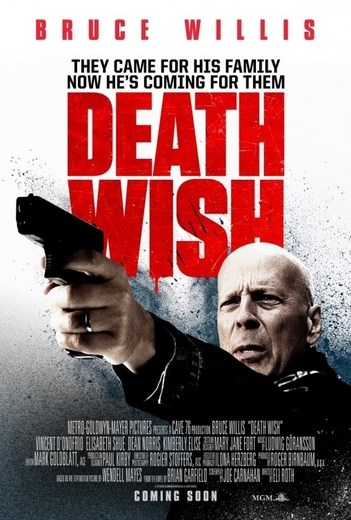 DEATH WISH now showing at Cavendish Square
