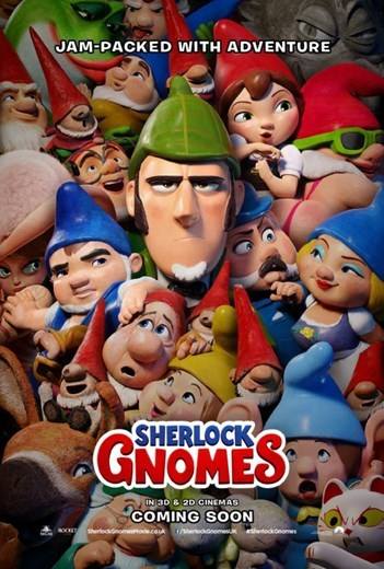 SHERLOCK GNOMES now showing at Shelly Centre