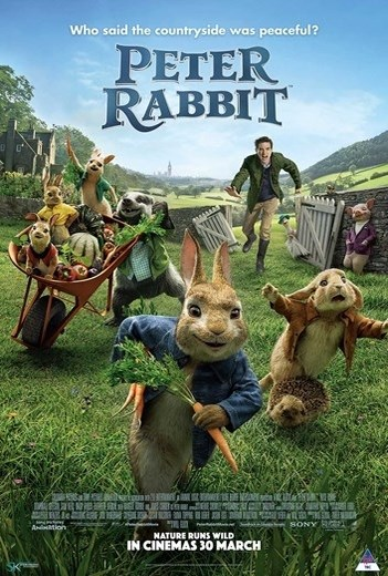 PETER RABBIT now showing at Shelly Centre